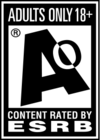 ESRB Adults Only 18+