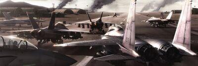 Ace Combat 6 runway