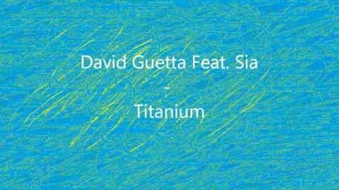 David Guetta Feat. Sia - Titanium Lyrics on Screen