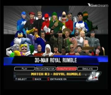 Roster 31th rumble-1