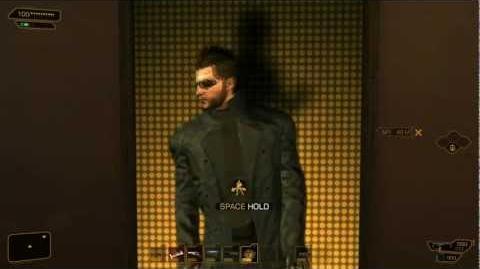 Adam Jensen Does A Safety Dance! (Deus Ex Human Revolution)