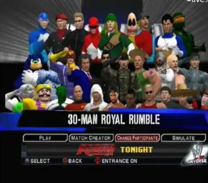 31ST ROYAL RUMBLE