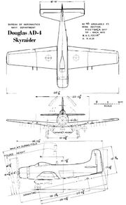 AD-4 BuAer 3 side view