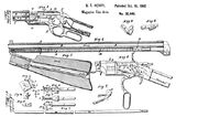 Patent drawing Henry Rifle