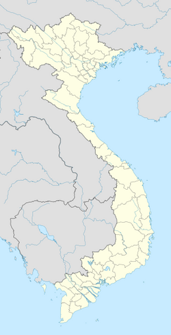 Vietnam location map