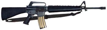 M16A1 brimob
