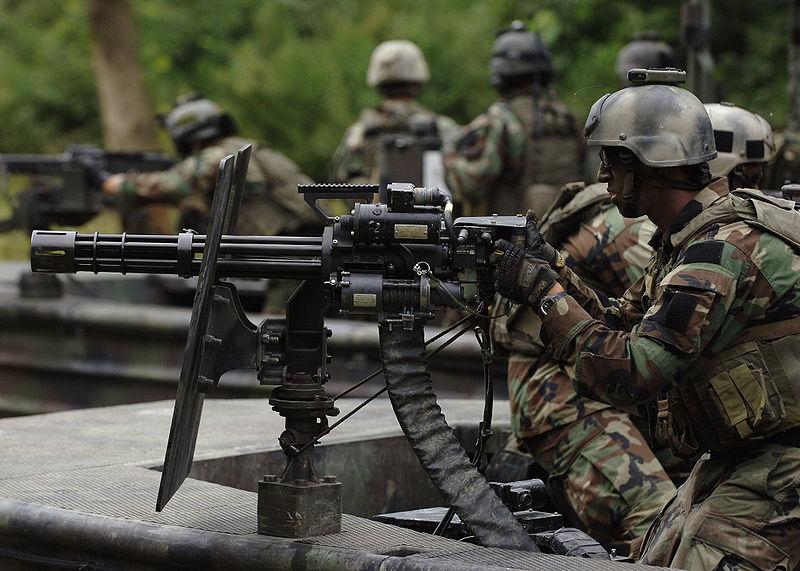 Minigun | Vietnam War | FANDOM powered by Wikia