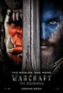 Warcraft The Beginning poster