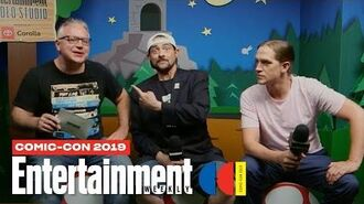 'Jay and Silent Bob Reboot' Stars Kevin Smith & Jason Mewes LIVE SDCC 2019 Entertainment Weekly