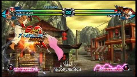 Viewtiful Joe - Basic Combo 001 - Tatsunoko vs Capcom
