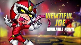 Viewtiful Joe arrives in Puzzle Fighter
