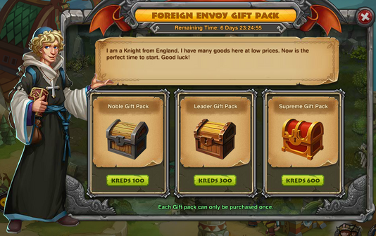 Foreign Envoy Gift Pack
