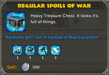 Regular Spoils of War-0