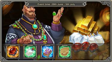 Generous merchant Event