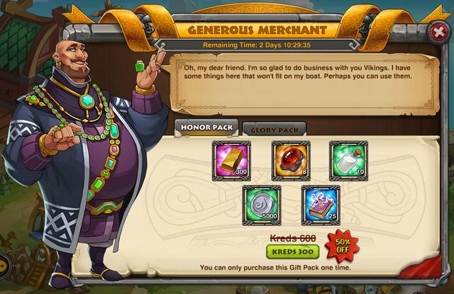 Generous Merchant