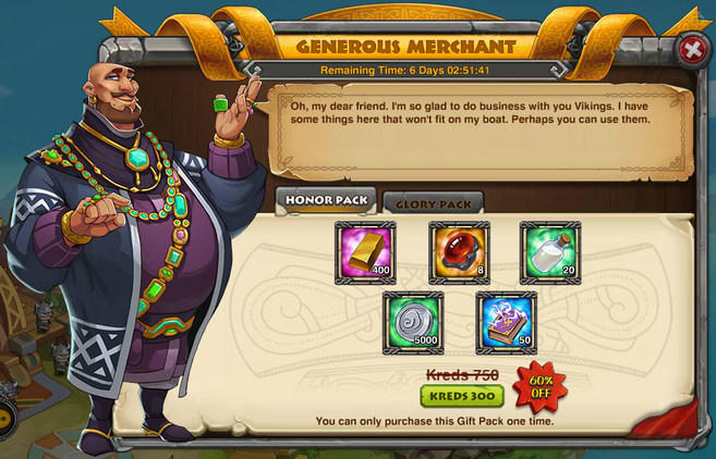 Generous Merchant updated