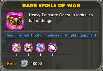 Rare Spoils of War-0