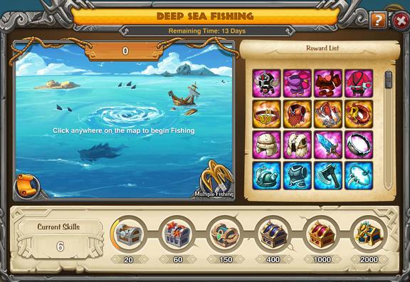 Deep Sea Prizes