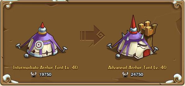 Inter tent archer
