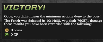 Raid - No Minimum