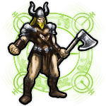 Legendary Axe Warrior