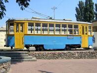 Пам'ятник старому трамваю