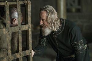 Король Эгберт беседует с плененным Рагнаром