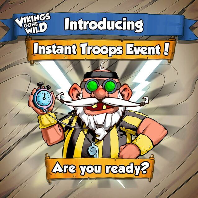 Instant Troops Event Intro