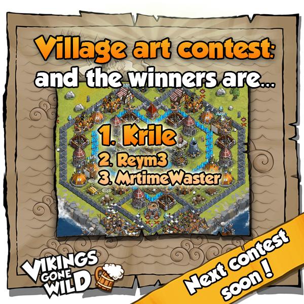 Art Contest Finish