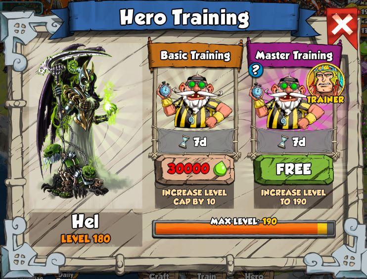Master Training