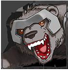 Bear Rider Icon
