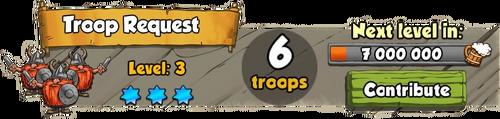 Troop Request