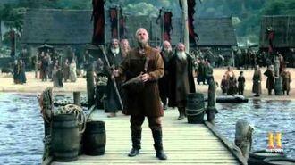 Vikings S04E06 Ragnar Leaving Kattegat Farewell Song