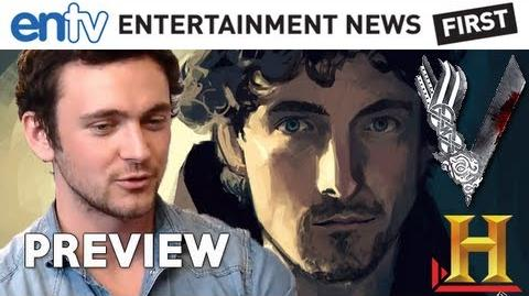 VIKINGS Interview with George Blagden