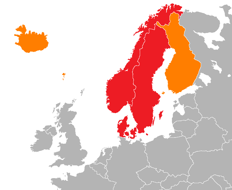 Scandinavia vikings wiki fandom powered by wikia map of scandinavia gumiabroncs Gallery