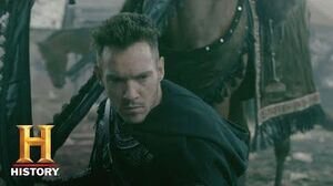 Vikings Meet Bishop Heahmund (Jonathan Rhys Meyers) History