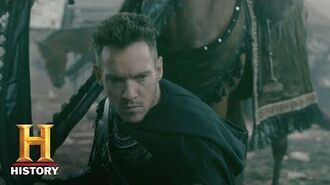 Vikings Meet Bishop Heahmund (Jonathan Rhys Meyers) History