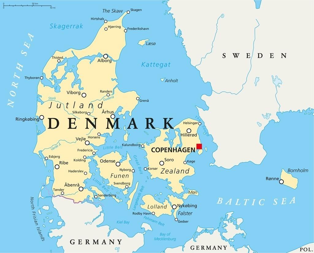 Image - Denmark-map.jpg | Vikings Wiki | FANDOM powered by Wikia