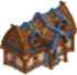 Mountain shelter symbol