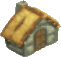 Stone cottage symbol