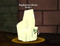 Sophisten Stein in Zuflucht