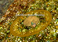 Amethyst Matschhaufen
