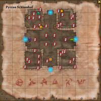 Karte Eierschalen Schlosshof