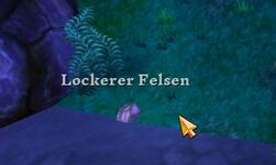 Lockerer Felsen