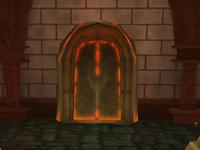 Geheime Tür in Zuflucht
