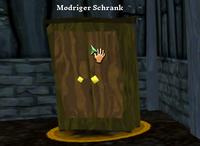 Modriger Schrank - Korkwald