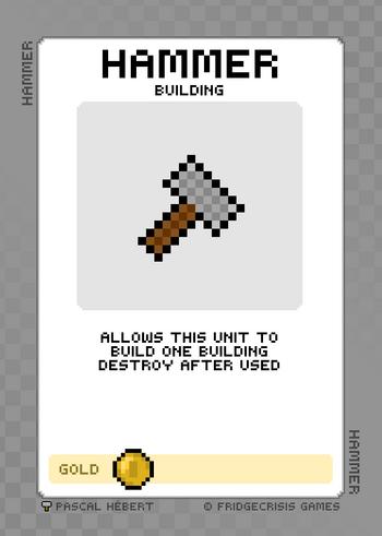 Item hammer