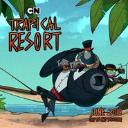 Trap-ical Resort