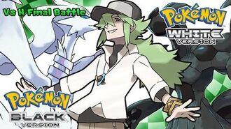 Pokemon Black White - Battle! N Final Music (HQ)