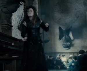 Bellatrix fighting Molly